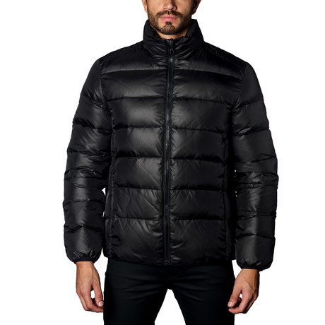 Geneva Down Puffer // Black (S)