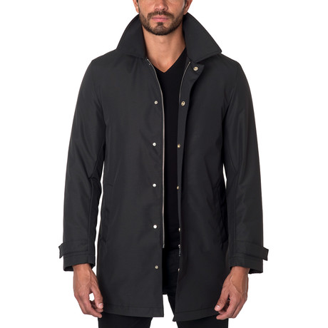 Los Angeles Car Coat // Black (S)
