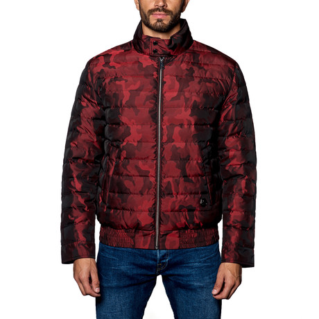 Chicago Lightweight Down Puffer // Red Camo (S)
