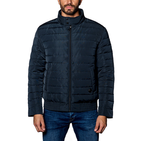 Chicago Lightweight Down Puffer // Navy (S)