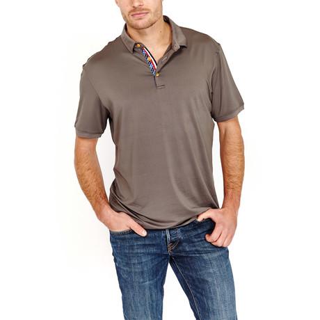 St Lynn // Horace Polo Shirt // Slate