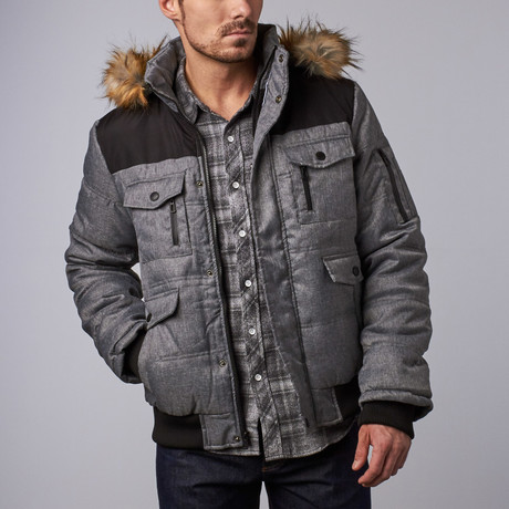 Ralph Heavy Winter Coat // Grey