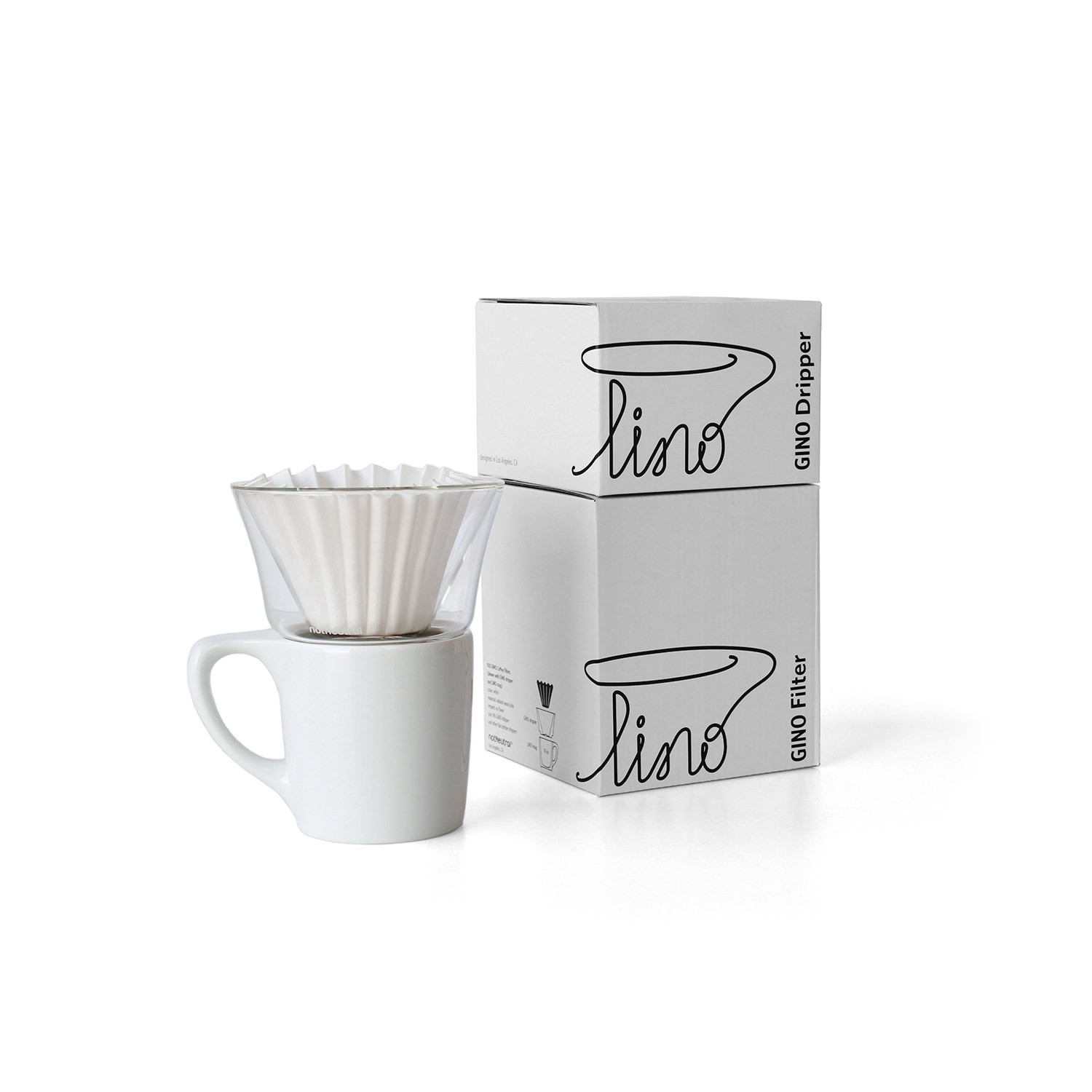 LINO + GINO // Pour Over Brewing Kit (Yellow) - notNeutral - Touch ...