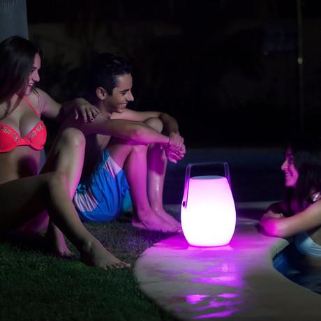 IbizaTunz Bluetooth Color-Changing Speaker