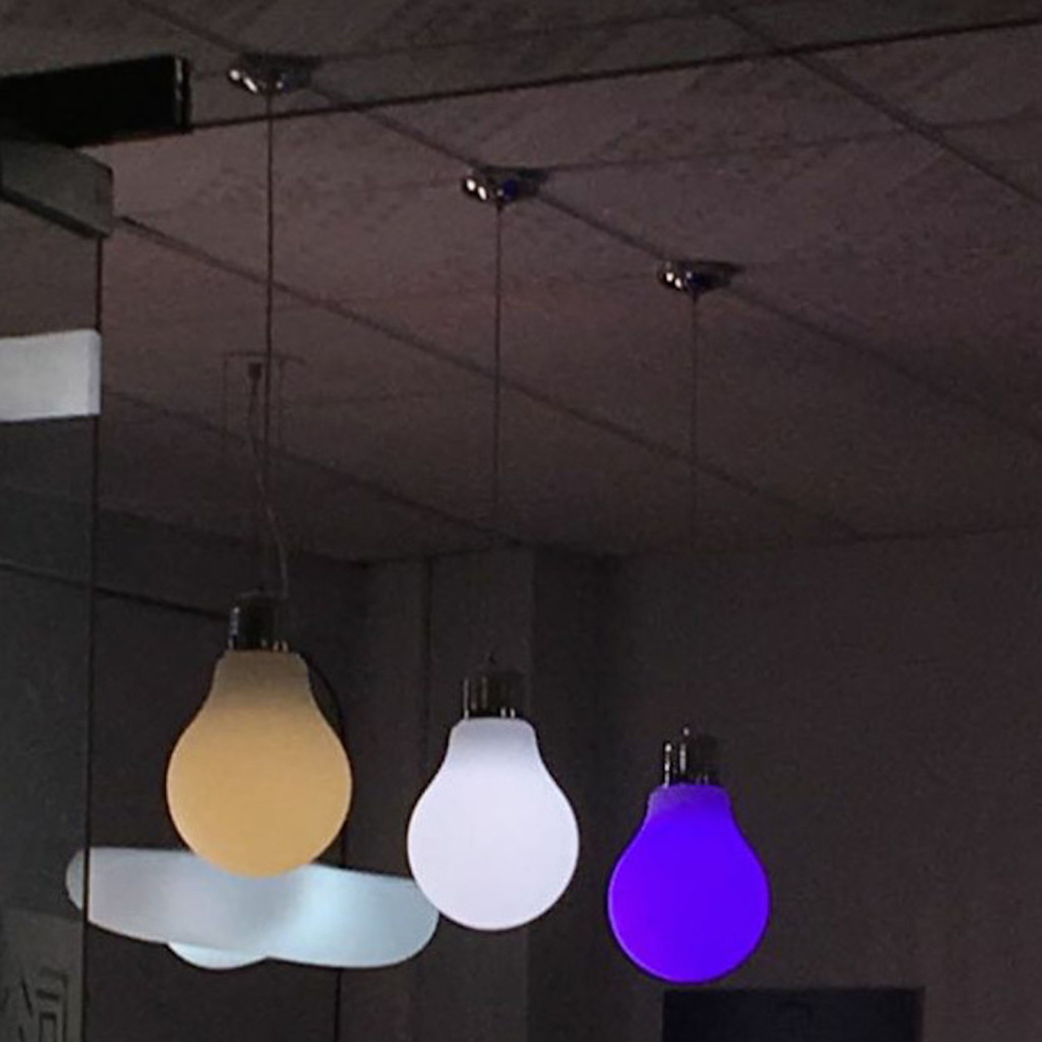Lightup Color Changing Pendant Lamp Small 24 Hour Special