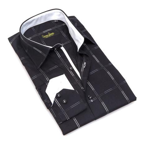 Phillips Button-Up // Black + White