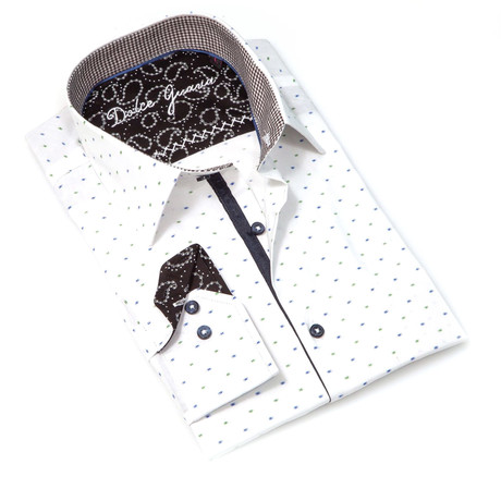 Bruno Button-Up Shirt // White