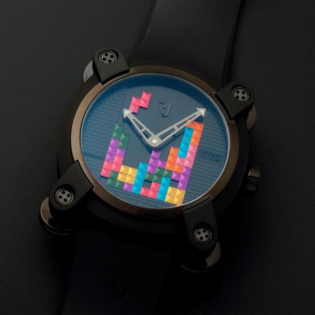 Romain Jerome Tetris DNA Automatic // Limited Edition // RJ.M.AU.IN.010.01 // Unworn