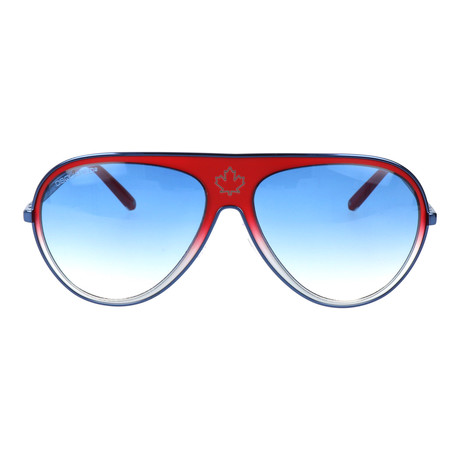 Timothy Sunglasses // Red + Blue
