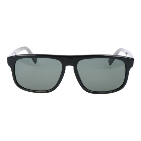 E. Zegna // Drago Sunglasses // Black