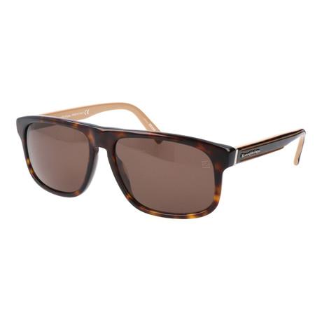 Men's EZ0003 Sunglasses // Dark Havana + Roviex