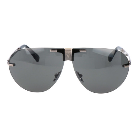 Neroni Sunglass // Grey + Silver