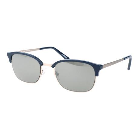Men's EZ0047 Polarized Sunglasses // Shiny Blue, Smoke