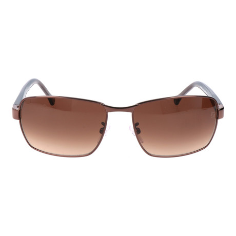 E. Zegna // Nevio Sunglasses // Brown + Bronze