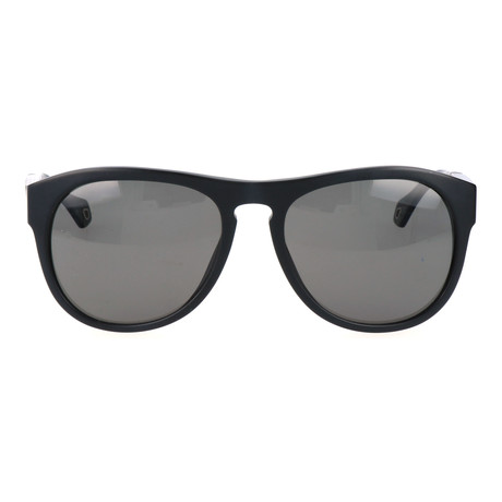 E. Zegna // Januario Sunglasses // Black