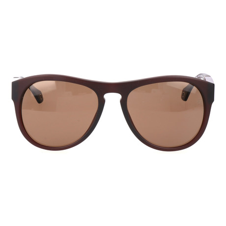 E. Zegna // Januario Sunglasses // Brown