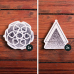 Meticulous Maleficence // Pack of 4