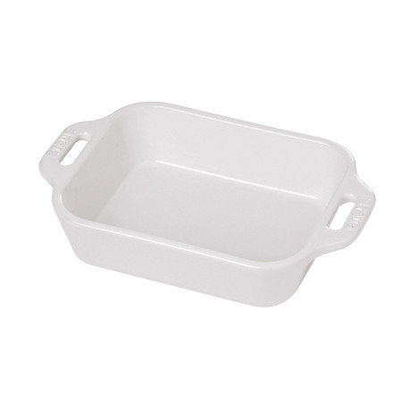 Rectangular Baking Dish // White