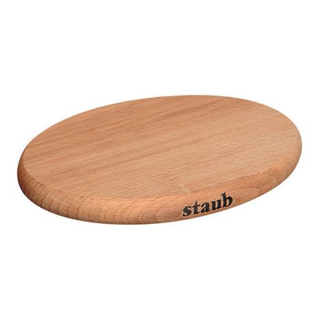 Oval Magnetic Wood Trivet
