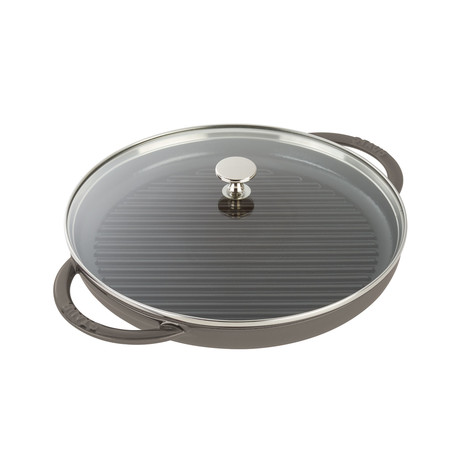 "Round Steam Grill // Graphite Gray (10"" Grill)"