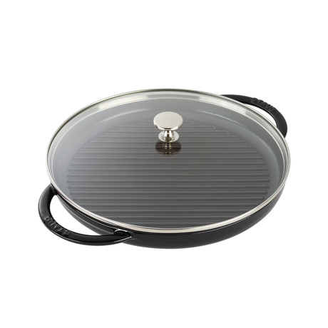 "Round Steam Grill // Matte Black (10"" Grill)"