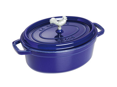 Touch Of Modern - Staub French Cast-Iron Cookware Coq au Vin Cocotte // Dark Blue Photo
