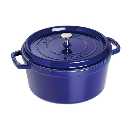 Round Cocotte // Dark Blue (5.5 qt)