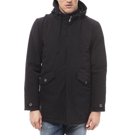 Hooded Jacket // Nero + Verde