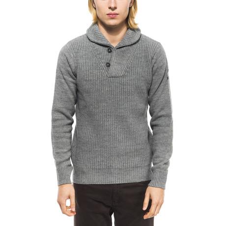 Shawl Collar Sweater // Grigio