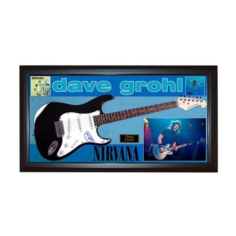 Nirvana Dave Grohl Signed Guitar