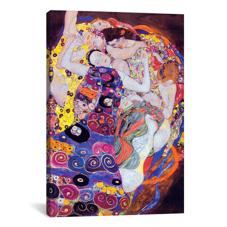 "The Virgin // Gustav Klimt // 1913 (18""W x 26""H x0.75""D)"