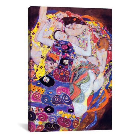 "The Virgin // Gustav Klimt // 1913 (18""W x 26""H x .75""D)"