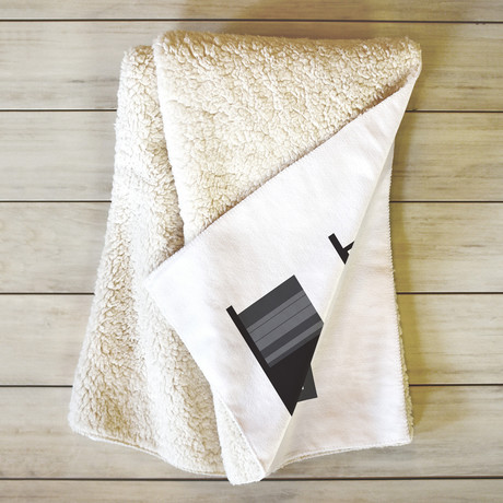 Image Not Found // Fleece Throw Blanket (Medium)