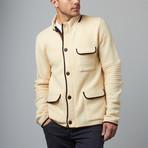 Cesarani // Wool Explorer Jacket // Ivory (S)