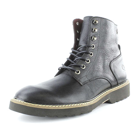 Change Lace-Up Boot // Black