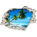 Palms On White Sand Beach