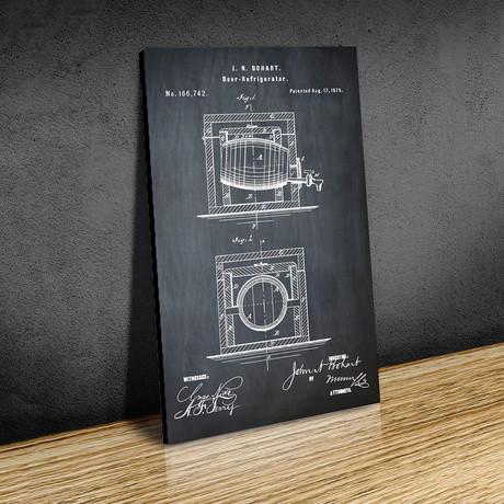 Beer Refrigerator // 1934 // Chalk