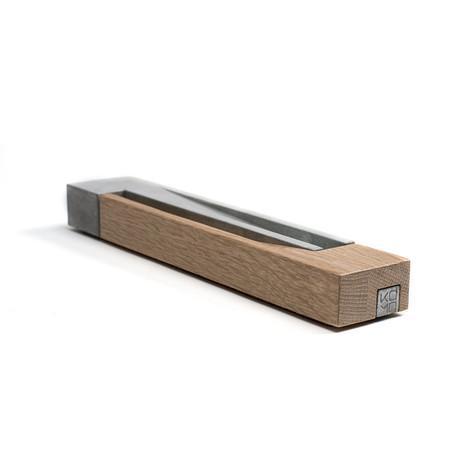 Incense Burner // White Oak + Concrete