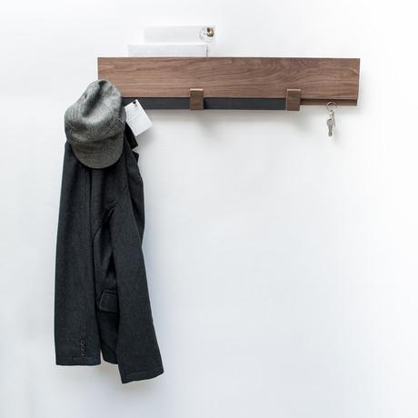 Long Wall Rack // Walnut