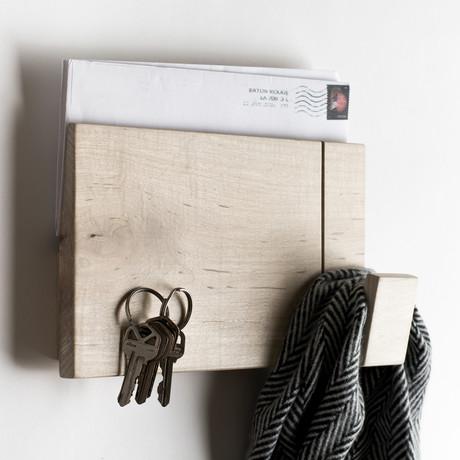 Short Wall Rack // Maple