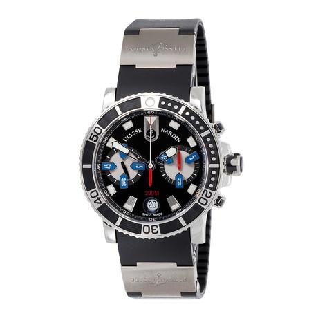 Ulysse Nardin Maxi Marine Diver Chronograph Automatic // 8003-102-3/92 // Unworn