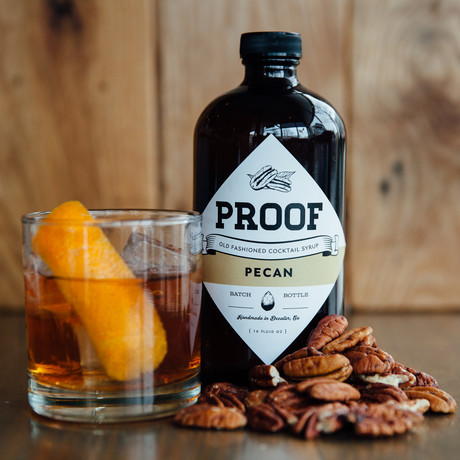Old Fashioned Cocktail Syrup // Pecan
