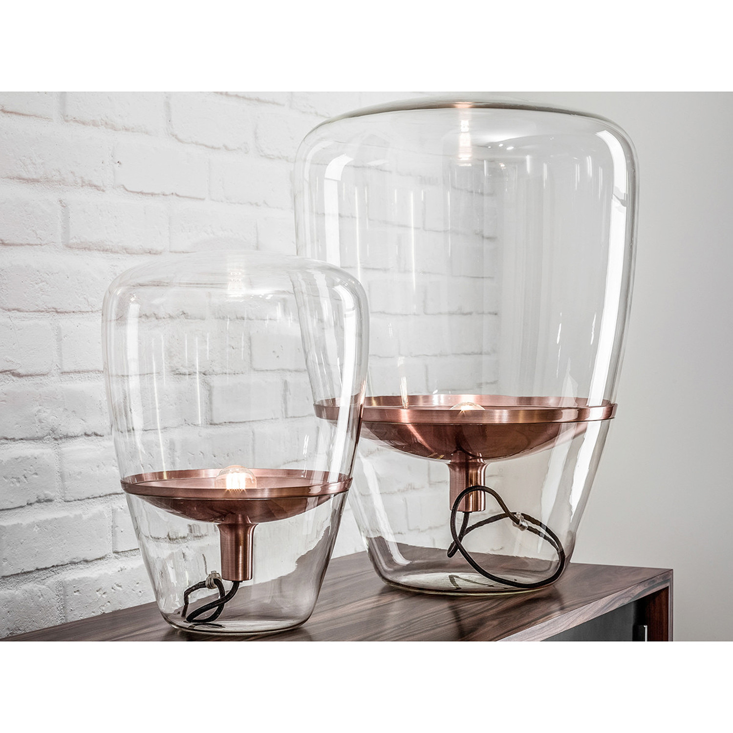hot balloon lamp rose gold small innostyles touch of modern. Black Bedroom Furniture Sets. Home Design Ideas