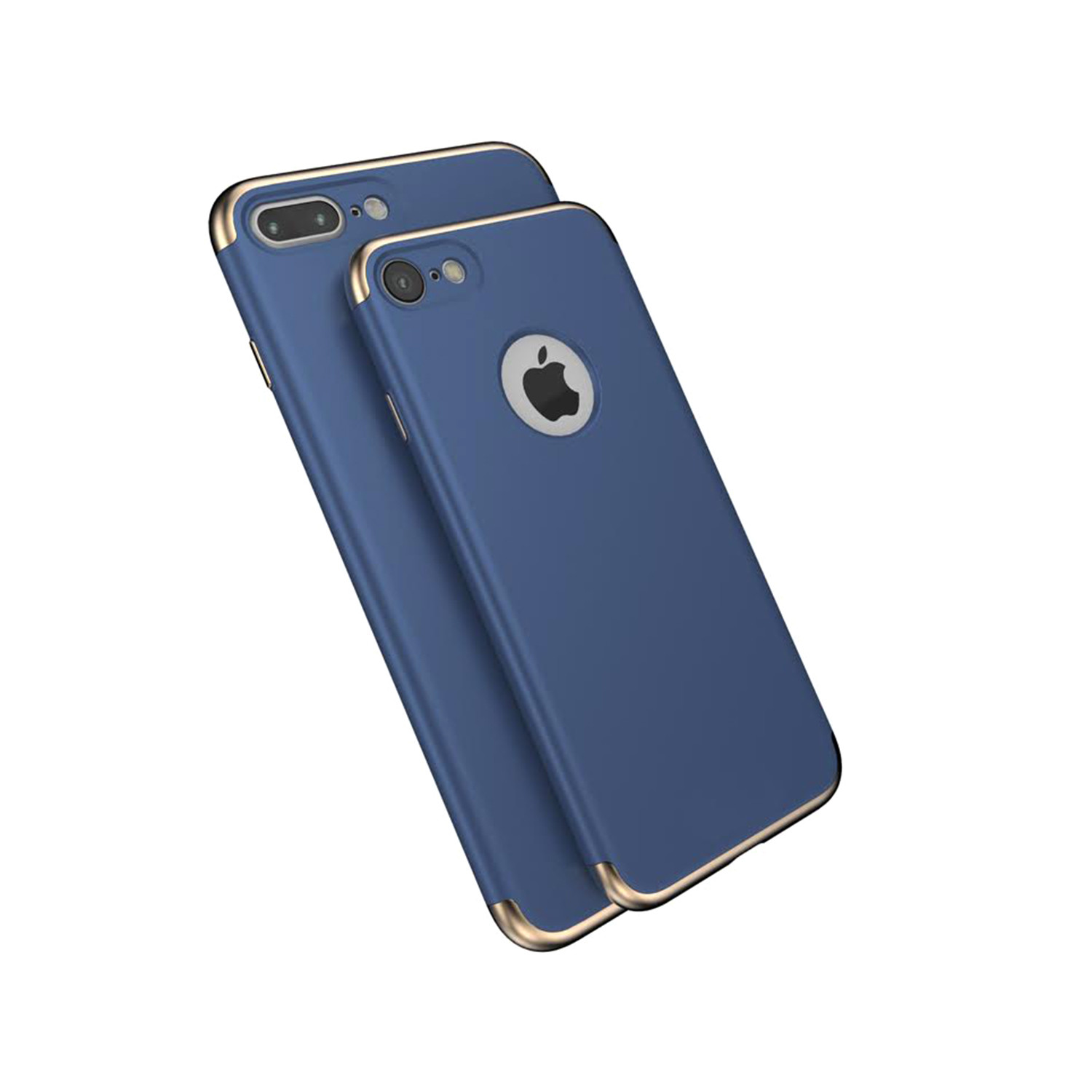 Luxarmor Case Blue Gold Iphone 6 6s Touch Of Modern Matte Full Protective Hard For Golden