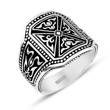 Pusat Silver Ring