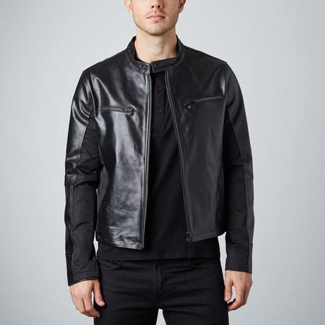 Cheltenham // Rogue Leather Jacket // Black