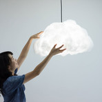Lampshade Cloud // Pendant (Swag Kit // Small Cloud)