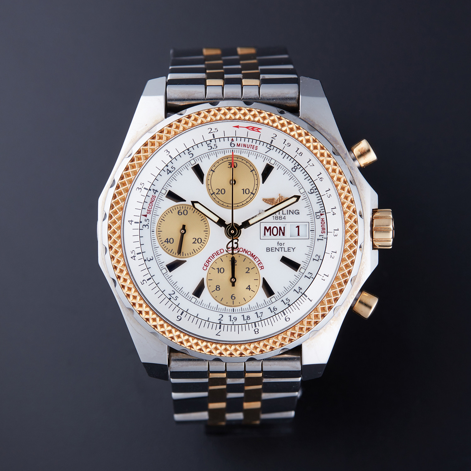 Breitling Bentley Gt Chrono Automatic D13362 Pre Owned