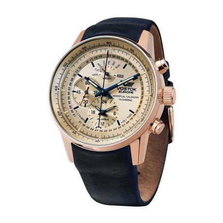 Vostok-Europe Gaz Limo Chronograph Quartz // YM86/565B290
