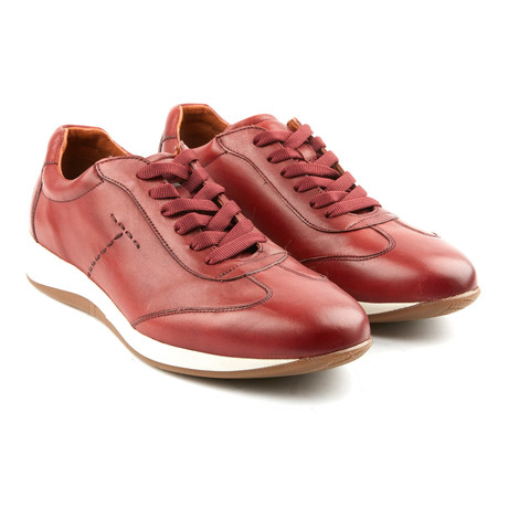 Franchesco Casual Sneakers // Wine